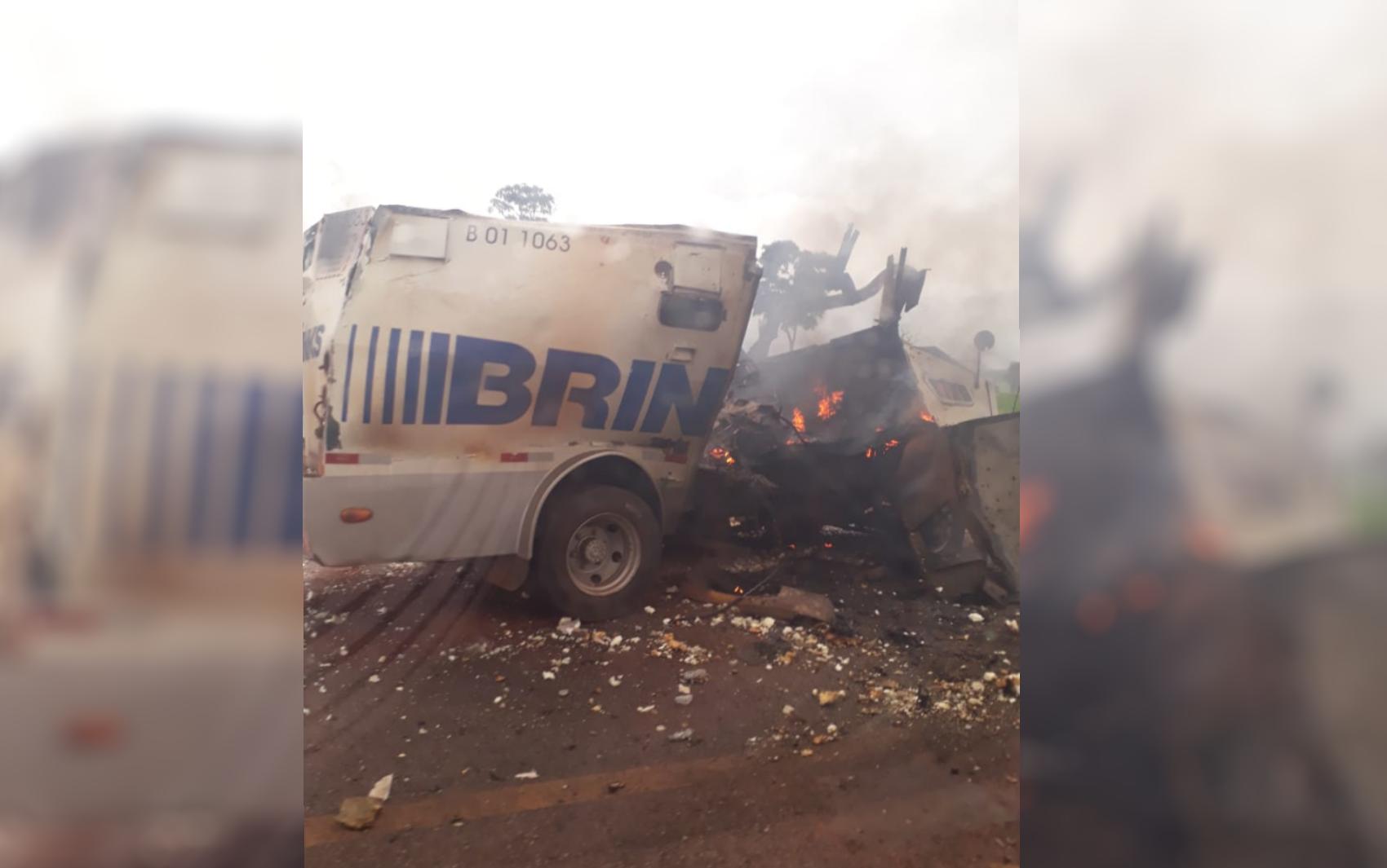 Polícia Civil prende suspeito de chefiar quadrilha de assaltos a carros-forte em Goiás