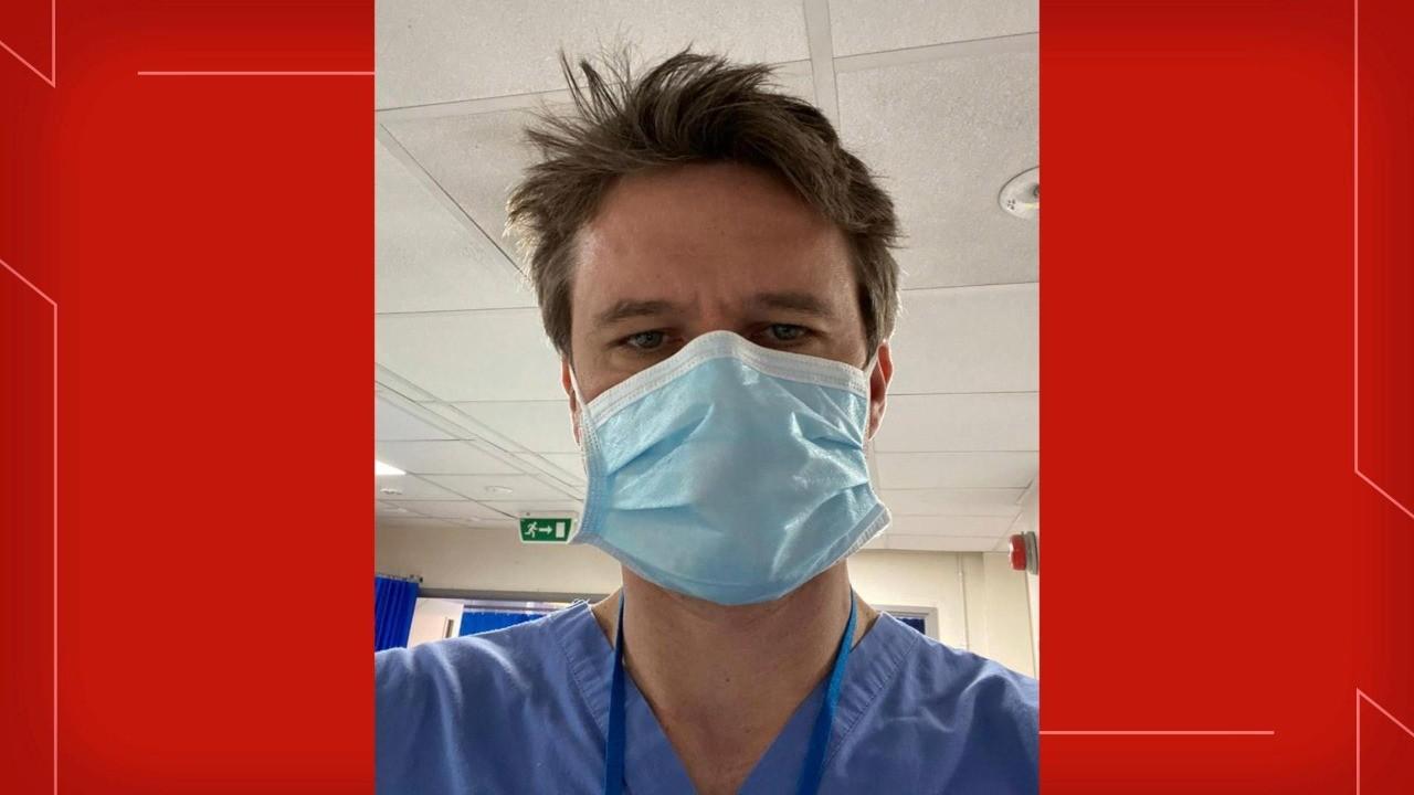Médico brasileiro se prepara para vacinação contra Covid-19 no Reino Unido: 'sinal de que está chegando'