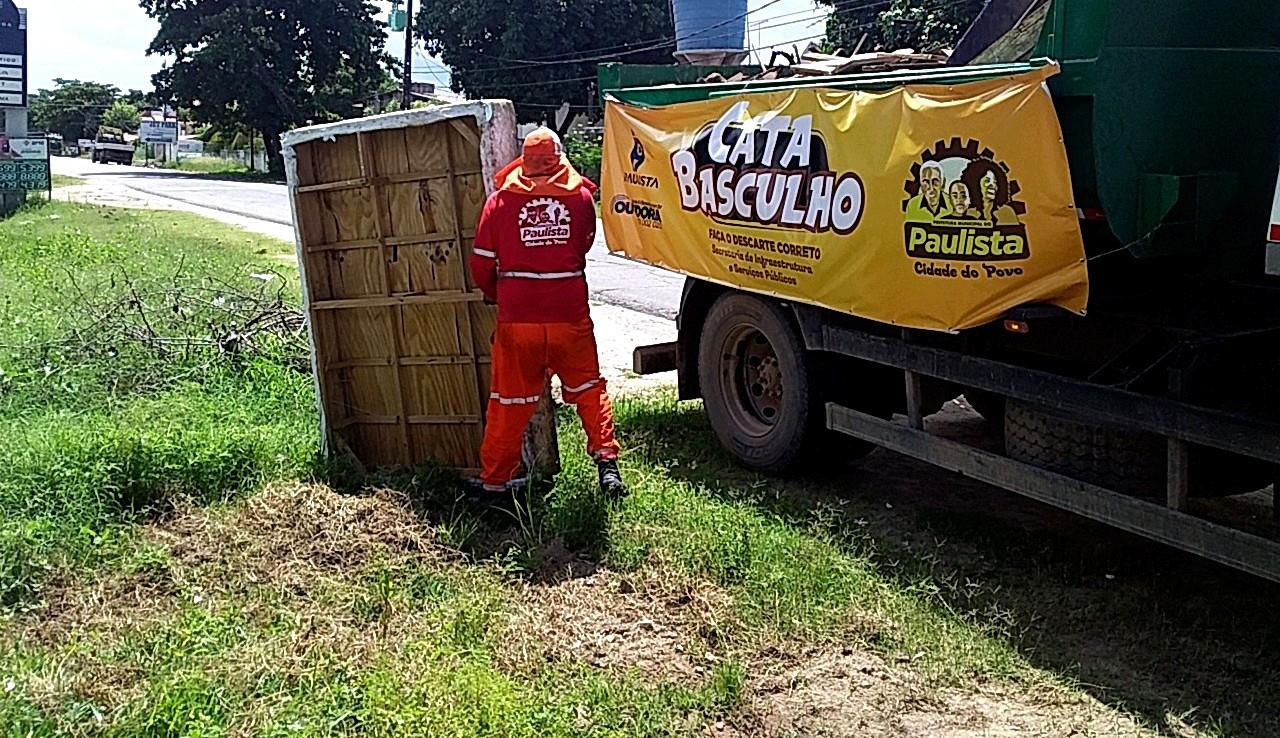 Termo citado por Gil do Vigor no Big Brother Brasil inspira projeto de limpeza urbana 'cata basculho' em Paulista
