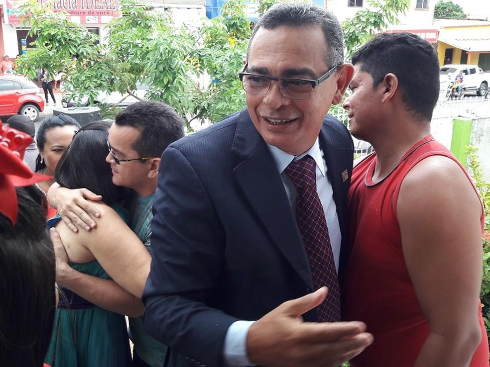 Jardel Vasconcelos, prefeito de Monte Alegre, no Pará — Foto: Prefeitura de Monte Alegre/Divulgação