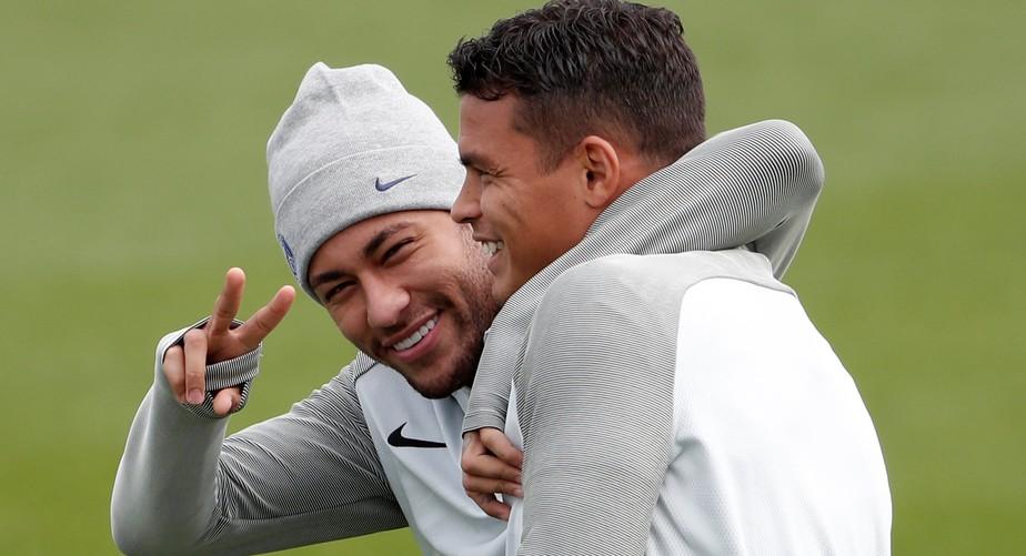 PSG se prepara para estreia com Neymar e Mbappé, mas sem Di María e Pastore