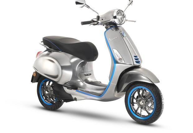 Versão da motocicleta Vespa Elétrica (Foto: Divulgação/Piaggio)
