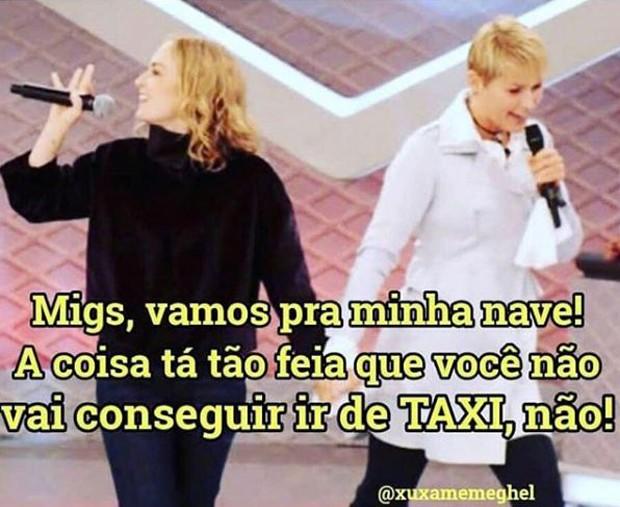 Meme de Xuxa com Angélica (Foto: Reprodução/Instagram)