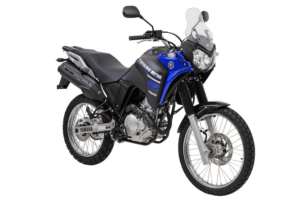 Yamaha Ténéré 250 — Foto: Yamaha/Divulgação