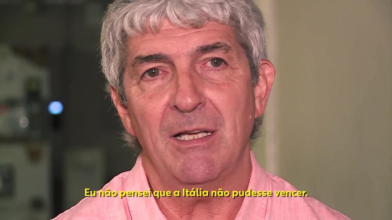 Em entrevista ao ge, ele afirmou: 'Sempre pensei que poderia vencer o Brasil'