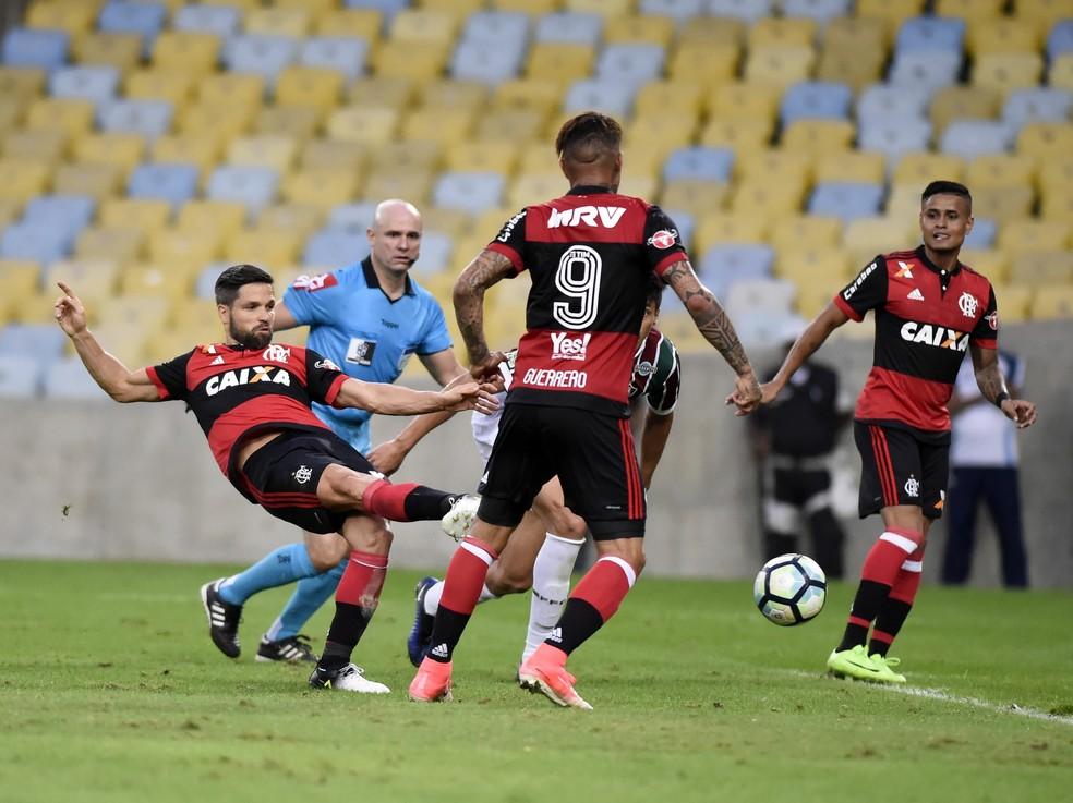 Flamengo conta com artilharia pesada em 2017: 99 gols ao todo (Foto: André Durão)