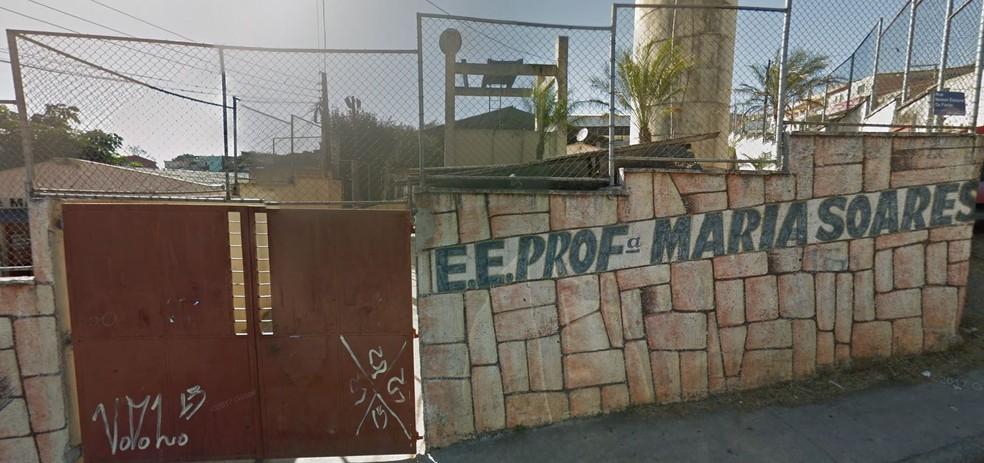 Escola estadual Profª Maria Soares, em Itapevi, na Grande SP — Foto: (Reprodução/Google Maps)