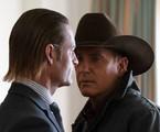 Josh Holloway e Kevin Costner em cena da terceira temporada de 'Yellowstone' | Paramount Network