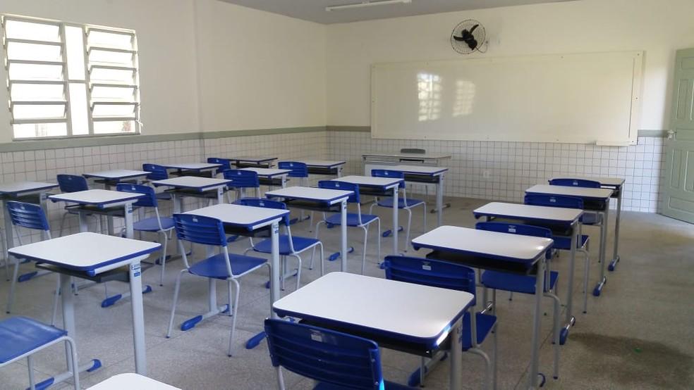 Retomada das aulas presenciais em escolas estaduais foi adiada pelo governo do Maranhão.  — Foto: Divulgação/Seduc.