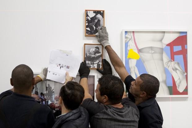 Obra da exposição Queermuseu (Foto: Divulgação)