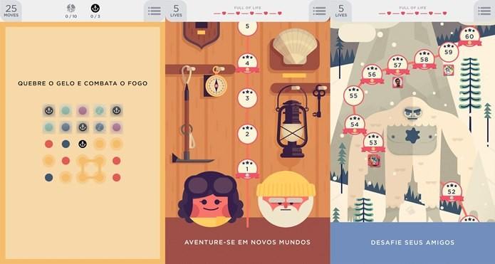 Design bonito e desafio na medida são os destaques da continuação de Dots (Foto: Divulgação)