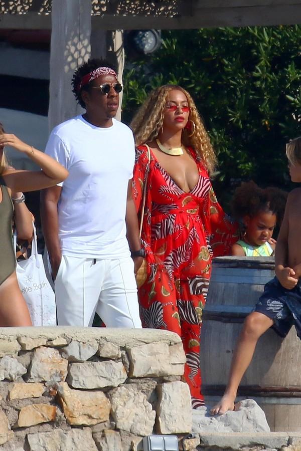 Jay-Z e Beyoncé (Foto: AKM-GSI)