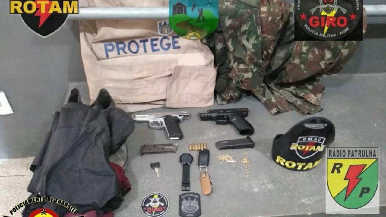 Bandidos assaltam sede da vigilância em Cruzeiro do Sul