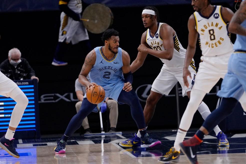 gettyimages-1230937416 Com 90 pontos do trio Irving-Durant-Harden, Nets vencem Clippers em duelo emocionante
