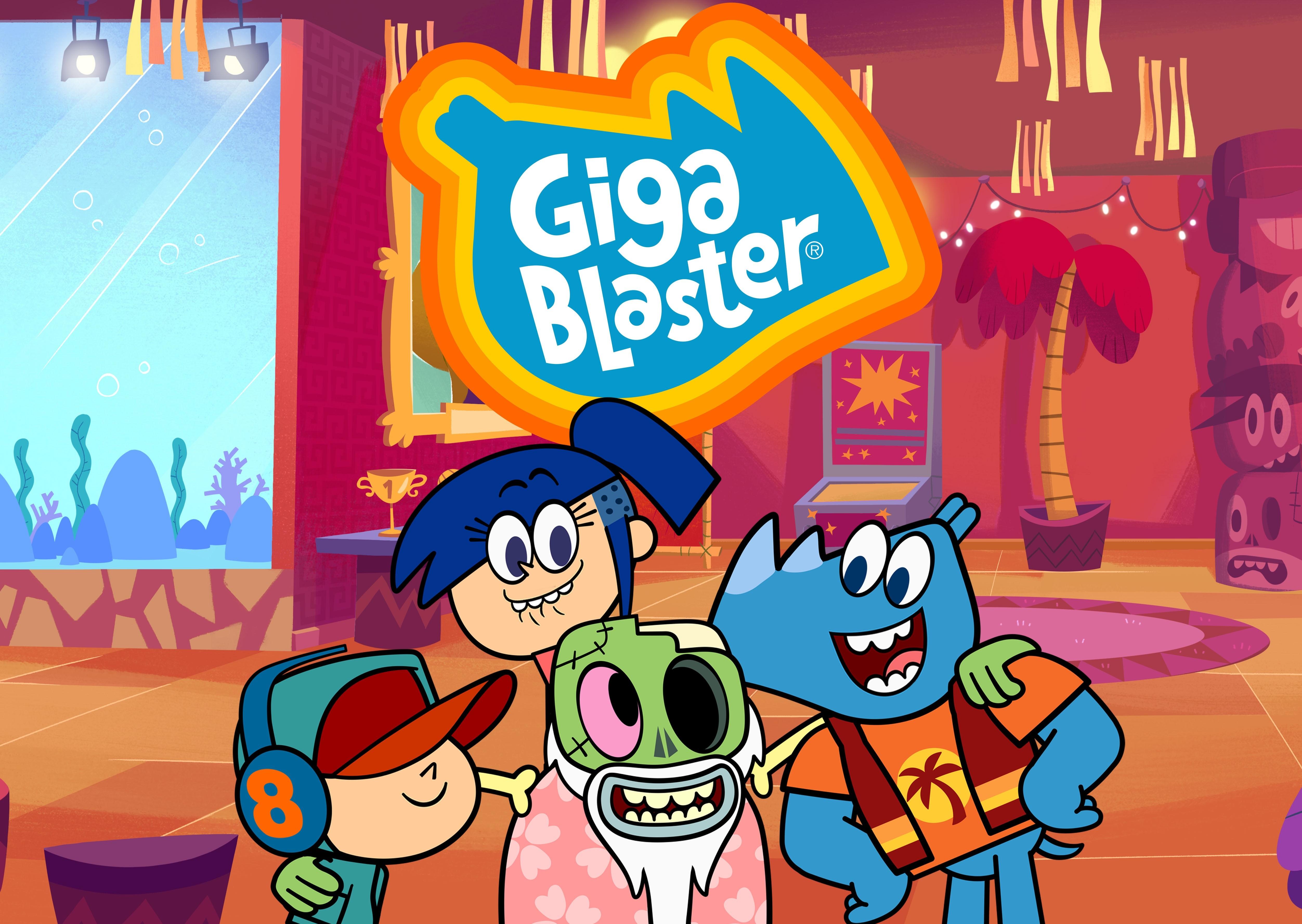 'Gigablaster': nova animação brasileira chega à