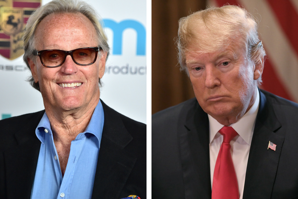 Peter Fonda e Donald Trump (Foto: getty)