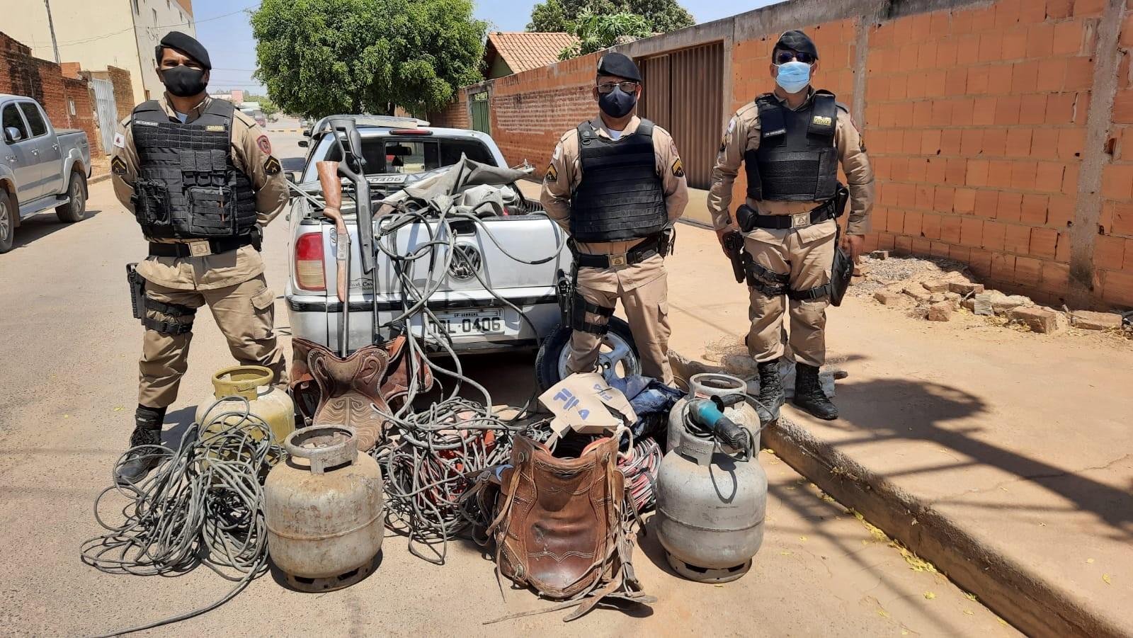 Homem é preso após a PM registrar furtos na zona rural de Juvenília