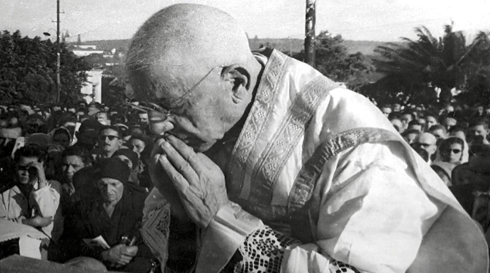 Padre Donizetti Tavares de Lima nasceu em Cássia (MG) em 3 de janeiro de 1882 — Foto: Reprodução/EPTV