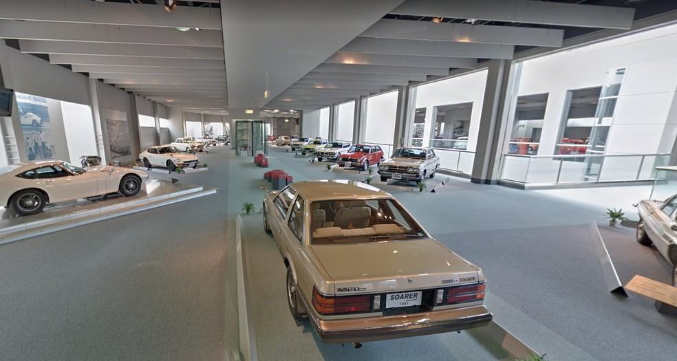 Museu da Toyota, no Japão — Foto: Reprodução