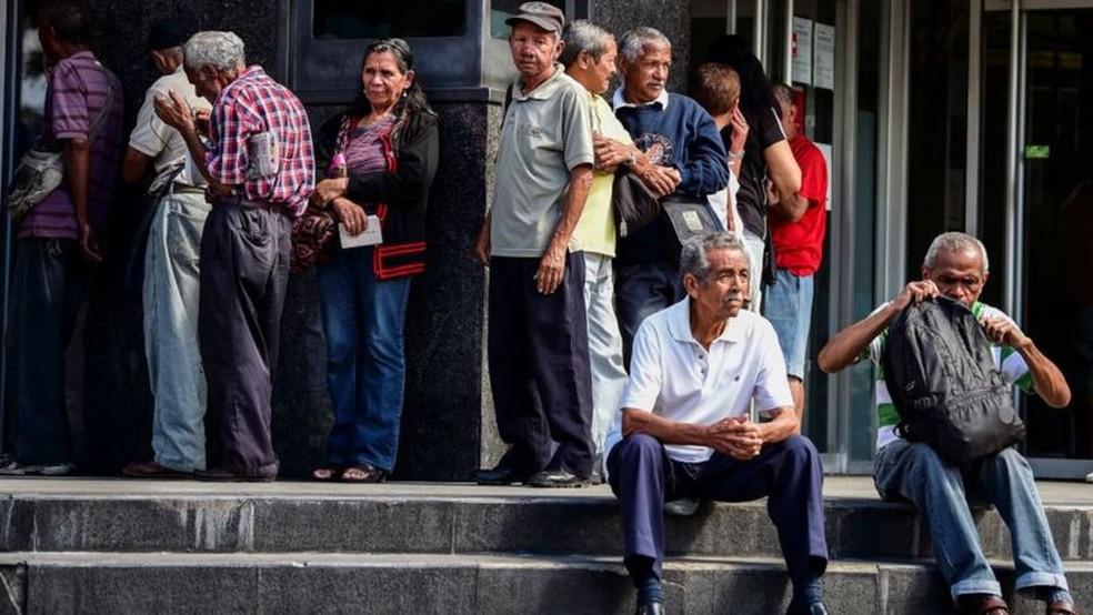 Envelhecimento da população sobrecarrega sistema de proteção social — Foto: Getty Images via BBC