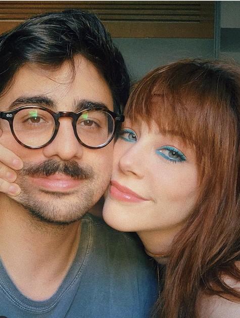 Bia Arantes e o namorado, Ian Ward (Foto: Reprodução/Instagram)
