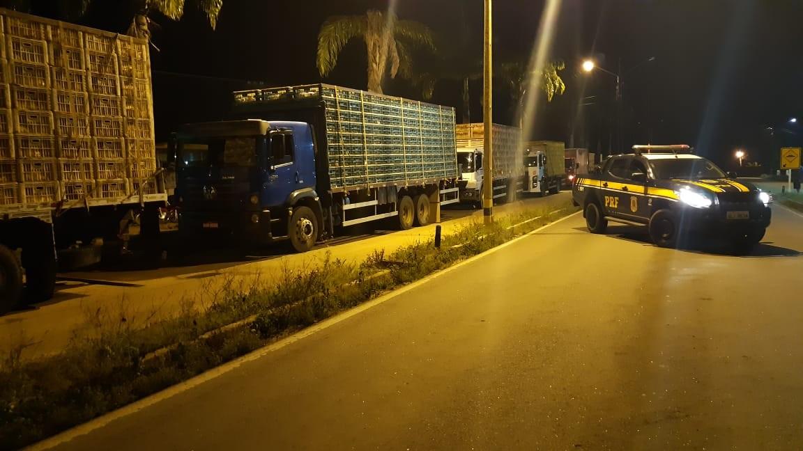 PRF e Sefaz apreendem cargas sem nota fiscal em Palmeira, AL - Notícias - Plantão Diário
