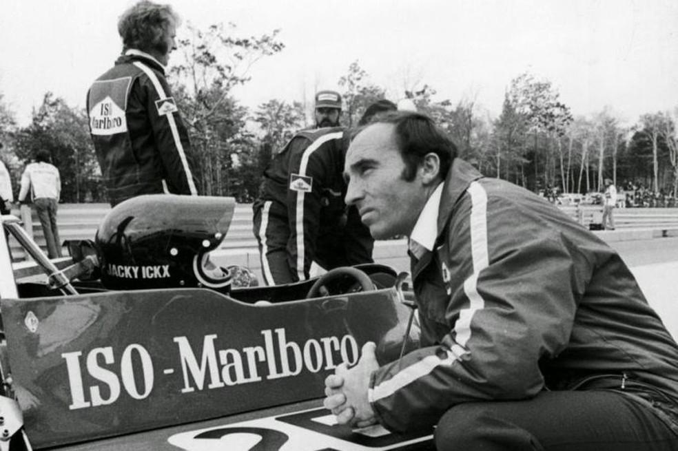 Frank Williams começou com sua equipe nos anos 1970 — Foto: Reprodução