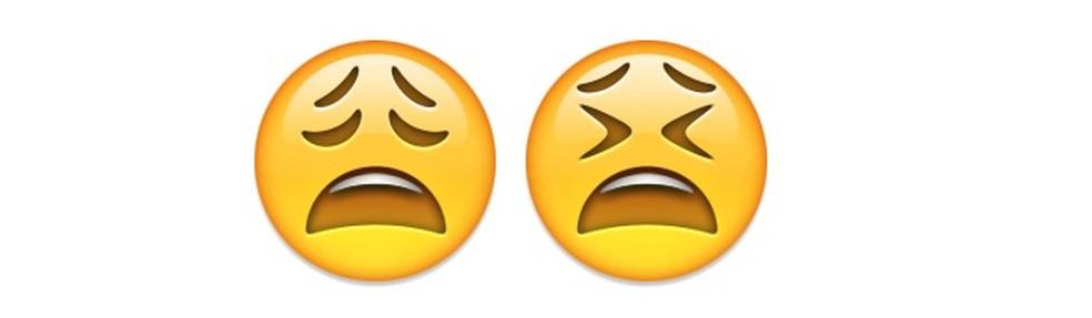 Emojis que representam o descontentamento com a vida — Foto: Reprodução/TechTudo