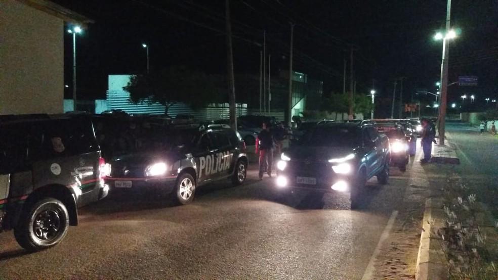 A Operação Carcará foi deflagrada na madrugada desta quinta (23), com a participação de mais de 100 policiais — Foto: Wandenberg Belém/SVM