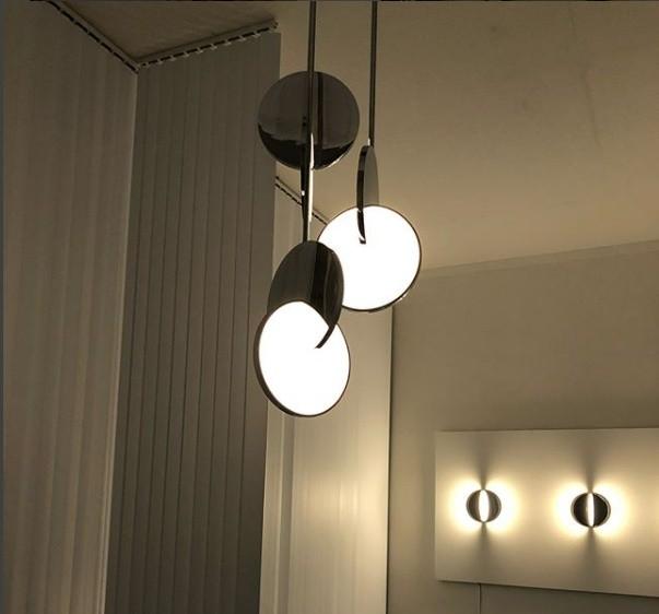 Luminárias do designer britânico Lee Broom, da linha Eclipse (Foto: Casa e Jardim)
