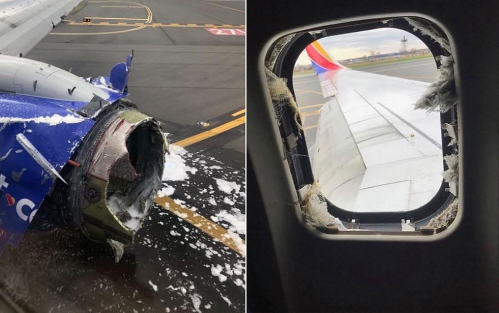Mulher morta após ser sugada por janela de avião nos EUA era executiva de 43 anos (Foto: Facebook Marty Martinez/Reprodução)