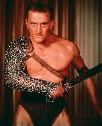 Kirk Douglas em cena de 'Spartacus'. (Foto: Divulgação)