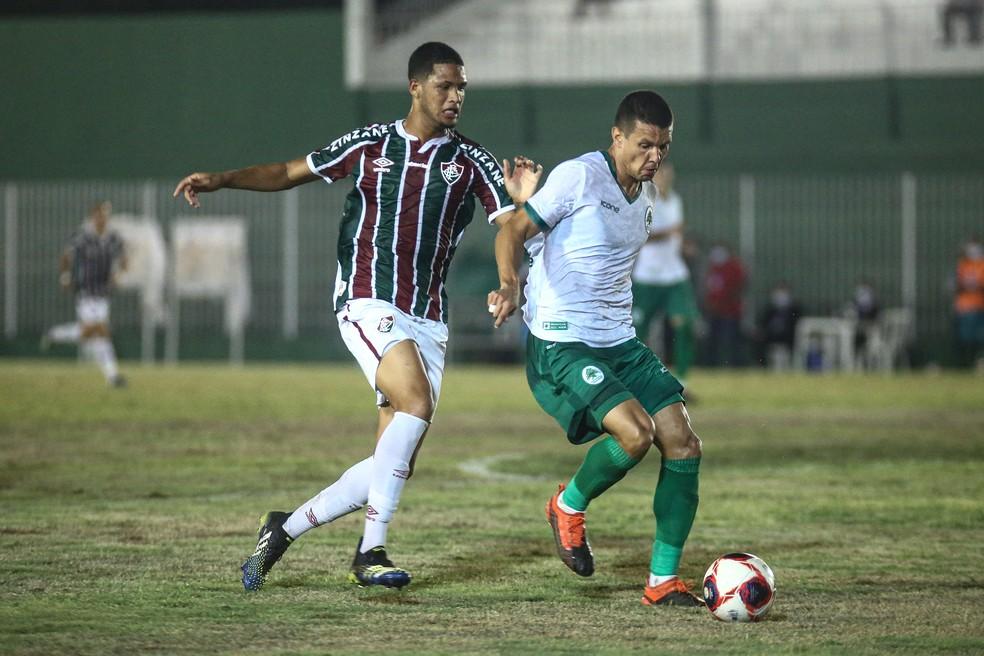 """Samuel """"Granada"""" passou em branco até agora na temporada — Foto: Lucas Merçon / Fluminense FC"""