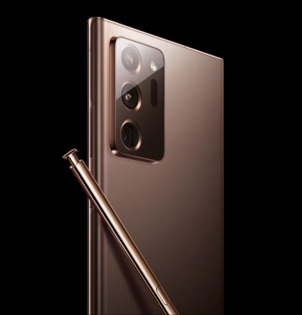 Suposto Galaxy Note 20 — Foto: Reprodução/Max Weinbach