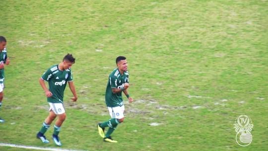 Piauiense Matheus Rocha faz golaço e se destaca no Palmeiras sub-20; VÍDEO