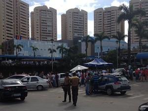 Frente da Unijorge, em Salvador (Foto: Alex Soares/Arquivo Pessoal)