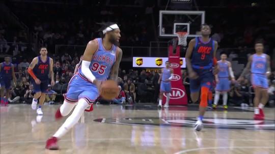 Noite de NBA tem melhor 1º quarto da história e cobrança de aposta no meio da entrevista