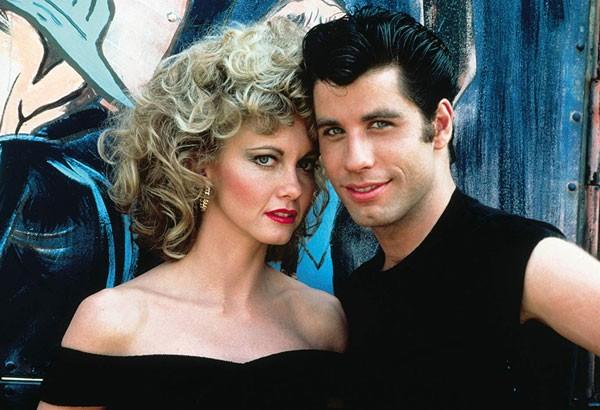 John Travolta and Olivia Newton-John em Grease - Nos Tempos da Brilhantina (1978) (Foto: Divulgação)