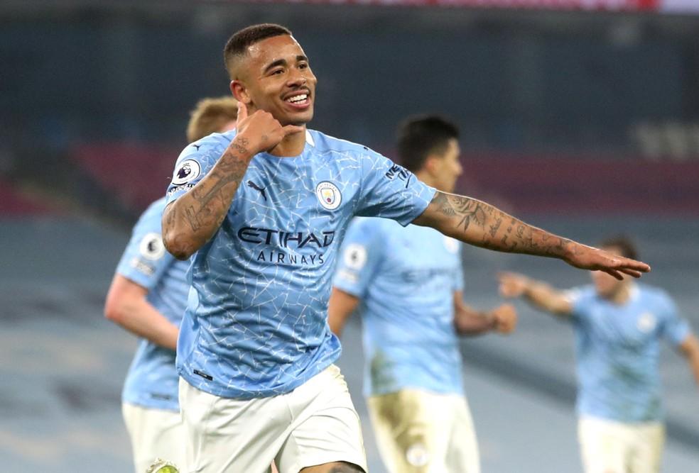 Gabriel Jesus tem 11 gols e três assistências na temporada — Foto: Reuters