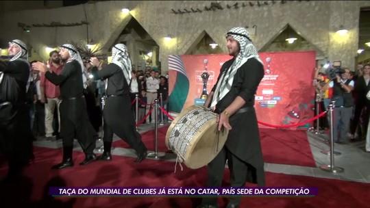 Taça do Mundial de Clubes já está no Catar, país sede da competição