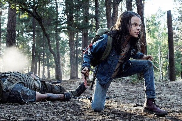 Dafne Keen em 'Logan' (Foto: Reprodução)