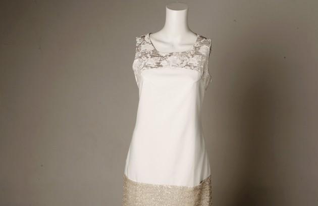 Vestido barra bordada da Rampage para Kria (R$ 595) (Foto: Gustavo Stephan)