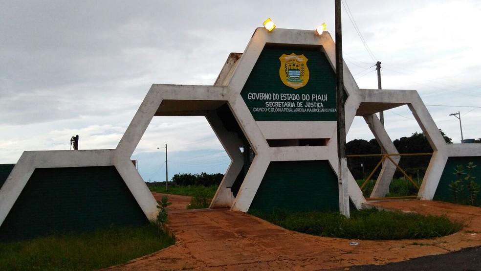 Colônia Agrícola Penal Major César Oliveira, em Altos do Piauí (Foto: Ellyo Teixeira/G1)