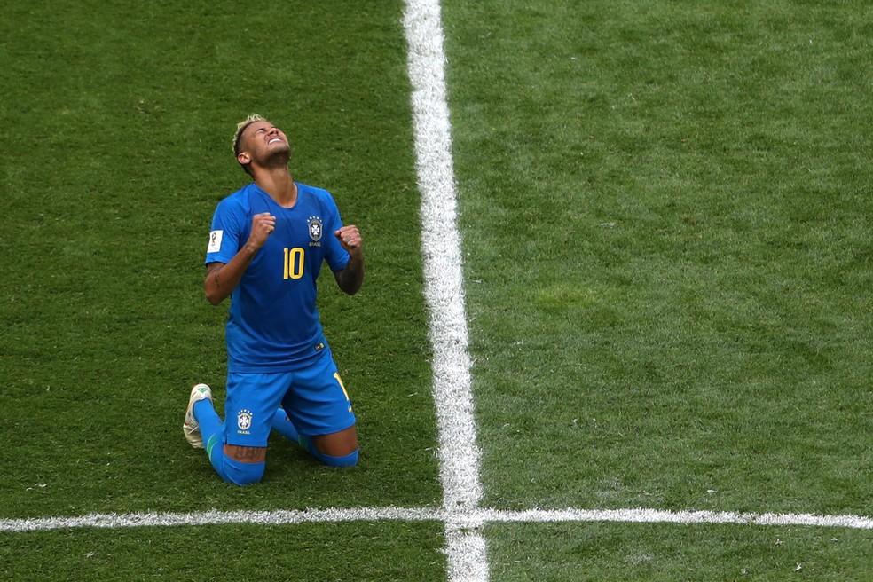 neymar, brasil x costa rica (Foto: REUTERS/Lee Smith)