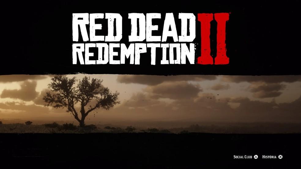 Red Dead 2 é um jogo imenso, jogue sem muita pressa — Foto: Reprodução/Felipe Vinha