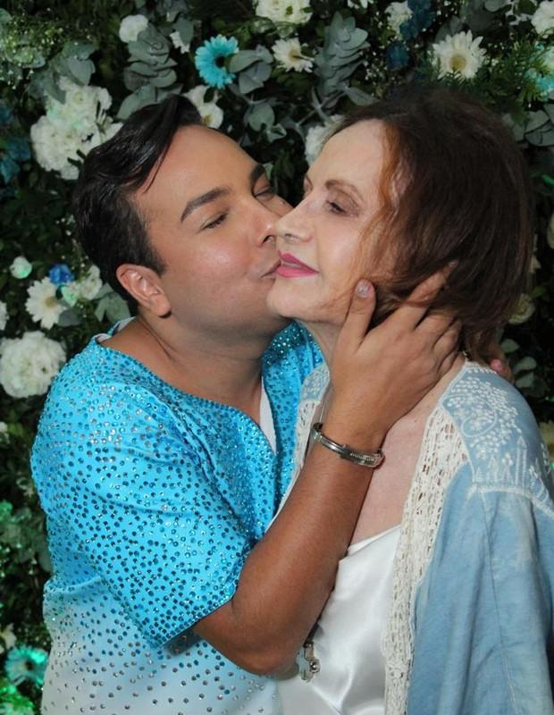 Netinho Alves e Rosamaria Murtinho (Foto: Guimarães Assessoria/Divulgação)