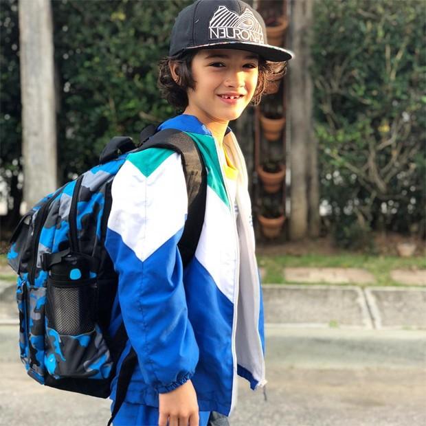 Kauai, filho de Danni Suzuki (Foto: Reprodução/Instagram)
