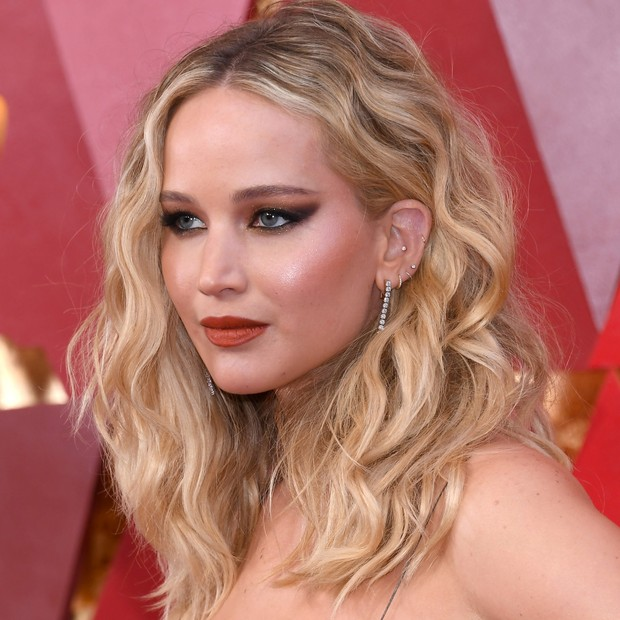 HOLLYWOOD, CA - MARCH 04:  Jennifer Lawrence attends the 90th Annual Academy Awards at Hollywood & Highland Center on March 4, 2018 in Hollywood, California.  (Photo by Kevork Djansezian/Getty Images) (Foto: Getty Images)