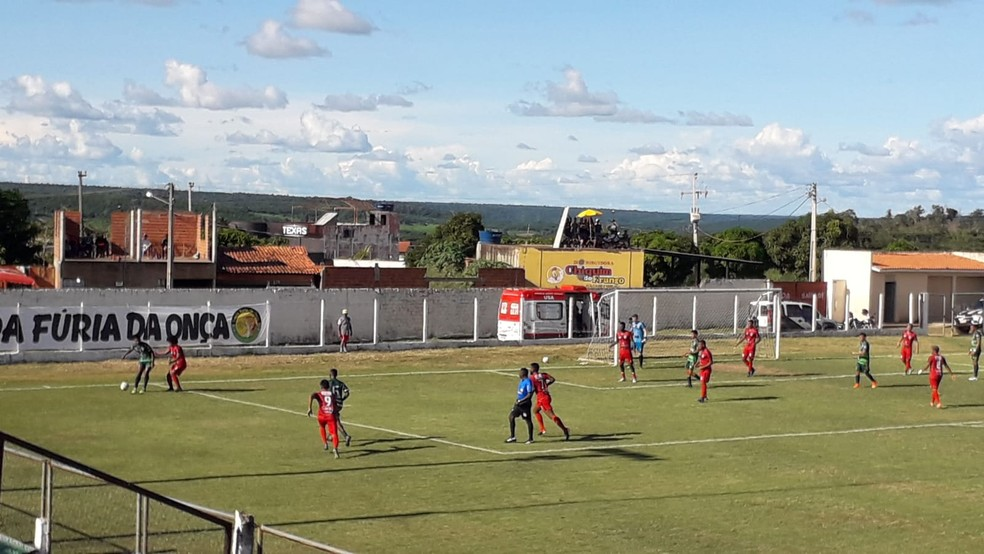 Partida foi realizada na tarde deste domingo no estádio Leandrão — Foto: ASCOM/Juventude