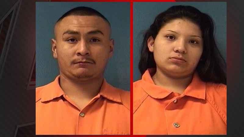 O casal foi acusado de abuso (Foto: Reprodução/ Departamento de Polícia)